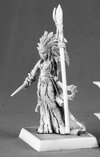Liela Mordollwen Dark Elf Sorceress Warlord Series by Reaper
