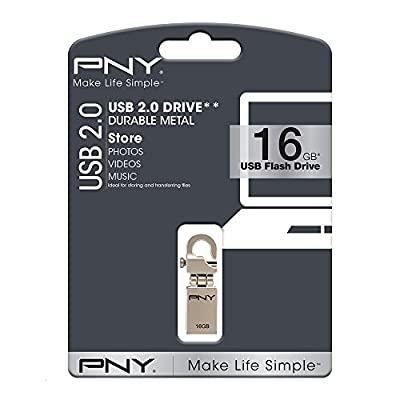 PNY Micro Hook Attache 16GB Pendrive