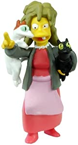 The Simpsons 20th Anniversary Figure Collection Seasons 16-20 Crazy Cat Lady