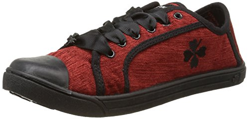 Molly Bracken - America, Sneakers da donna, rosso (bordeaux), 38