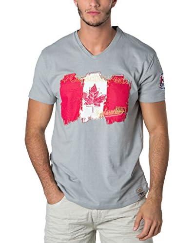 CANADIAN PEAK Camiseta Manga Corta Jerable Gris Claro
