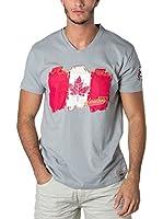 CANADIAN PEAK Camiseta Manga Corta Jerable (Gris Claro)