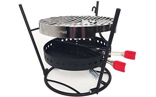 CampMaid Grill & Smoker (3 Piece) (Dutch Oven Smoker compare prices)