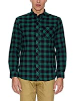 THE INDIAN FACE Camisa Hombre (Verde)