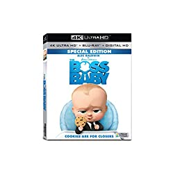 Boss Baby [4K Ultra HD + Blu-ray]
