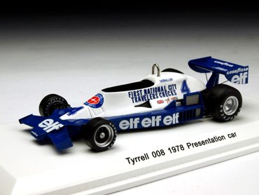 Reve 1/43 Tyrrell 008 Presentation car 1978