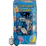 Blue and Silver Metallic Plastic Dreidel ~ Party America