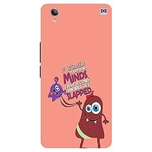 Mind Slapped - Mobile Back Case Cover For Vivo Y 51L