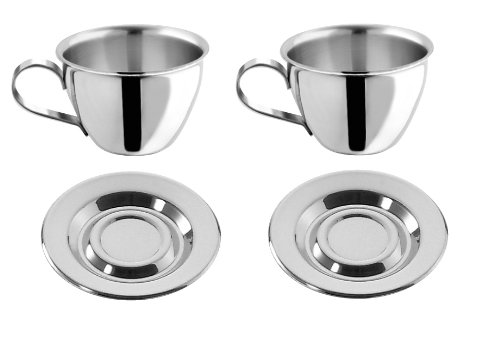 motta-stainless-steel-espresso-cups-and-saucers-set-of-2-by-motta