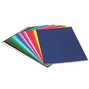 Pacon® - Spectra Art Tissue, 10 lbs., 12 x 18, 25 Assorted Colors, 100 Sheets/Pack - Sold As 1 Pack - Spritz or brush with water to blend assorted vibrant colors.