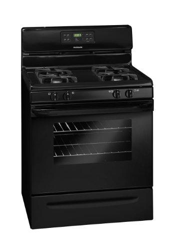 Frigidaire FFGF3023LB, 30 Inch Gas Range, Black