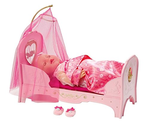 Zapf Creation 819562 - Baby born interactive Prinzessinnen Bett