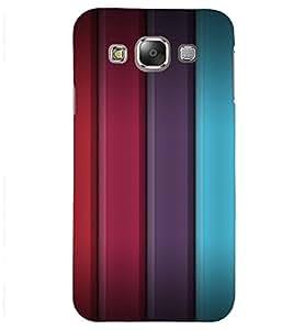 PrintVisa Colorful 3D Stripes Pattern 3D Hard Polycarbonate Designer Back Case Cover for Samsung Galaxy J2