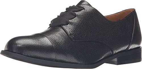 Nine West Women's Thayla Black Leather Oxford 8 M
