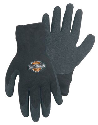 Harley Davidson Black on Black Gloves - Size Small