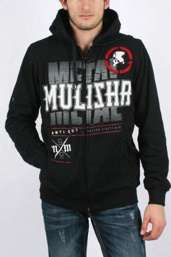 Metal Mulisha - Mens Despicable Fleece Hoodie, Size: Small, Color: Black