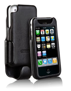 iPhone 1st Gen (1G & 2G only) Signature Leather Case & Holster Combo