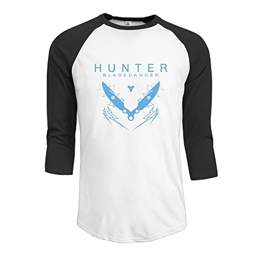 LQYG Men's Three Quarter Sleeve T Shirts - Hunter Black L (S2000 Humidifier compare prices)
