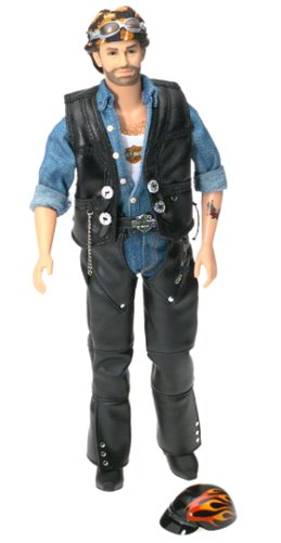 Harley Davidson Barbie Collectible Ken Doll #2