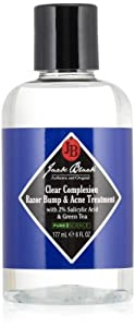 Jack Black Clear Complexion Razor Bump & Acne Treatment, 6 fl. oz. by Jack Black