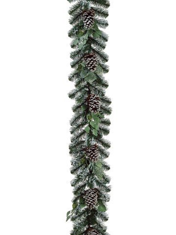 6-x-12-artificial-flocked-pine-cone-and-eucalyptus-christmas-garland-unlit-by-allstate