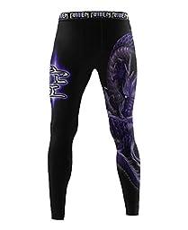 Raven Fightwear Men\'s Void Element BJJ MMA Spats Large
