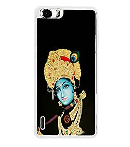 Lord Krishna 2D Hard Polycarbonate Designer Back Case Cover for Huawei Honor 6