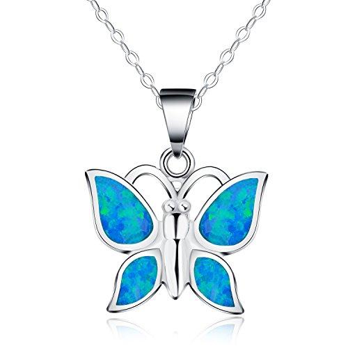 collar-con-colgante-de-mujer-18-forma-de-mariposa-opalo-azul-sintetico-plata-esterlina-925