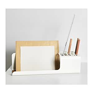 ikea kvissle desk organizer white office products