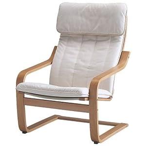 Amazon.com - Ikea Poang Chair Armchair with Cushion, Cover ...