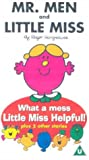 Mr Men And Little Miss: What A Mess Little Miss Helpful! [VHS]