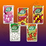 Tic Tac - 5 Flavours Collection - Festival, Strawberry Fields, Cherry Passion, Lime & Orange & Fresh Mint