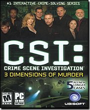 New Ubi Soft CSI 3 Dimensions Of Murder 5 Challenging