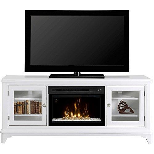 Dimplex Winterstein Electric Fireplace & Entertainment Center - Acrylic Ice Firebox (Gds25G-1413Ww)