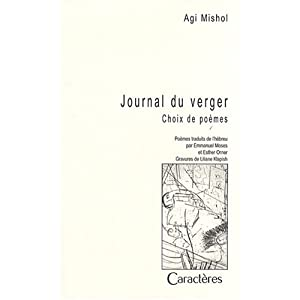 Journal du verger : Choix de poèmes