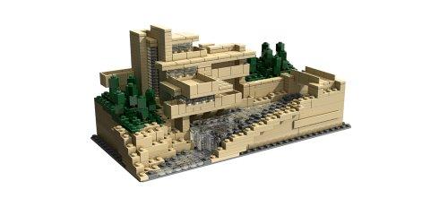 レゴ アーキテクチャー カウフマンズ邸・落水荘 21005