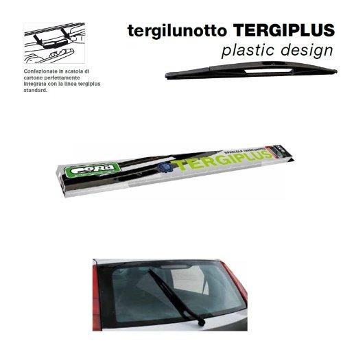 Cora 000023503 Tergiplus Spazzola Posteriore Tergilunotto, Nero