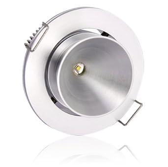Lighting EVER 1 Watt LED Downlight 10 Watt Halogen Replacement