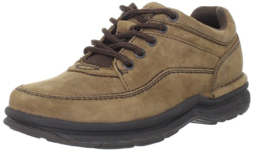 Rockport Mens World Tour Classic Walking Shoe,Chocolate Nubuck,13 N US