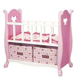 Our Generation Baby Doll Crib with Accessories