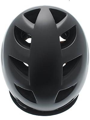 Bern Satin Black 2015 Melrose Zipmold-Flip Visor Womens MTB Helmet from Bern