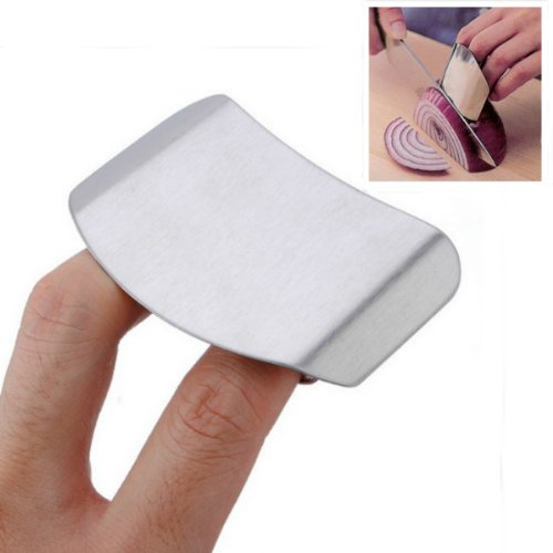 Stainless Steel Finger Guard Safe Protecter Chop Helper. (Chopper Stopper compare prices)