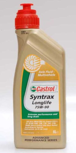 Castrol Syntrax Long Life 75W-90 Gear Oil CAS-1820-7160 - 1 Litre