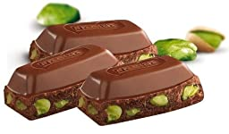 Nestle Damak Milk Chocolate with Pistachio 80g X 6 - Halal - Made in Turkey
