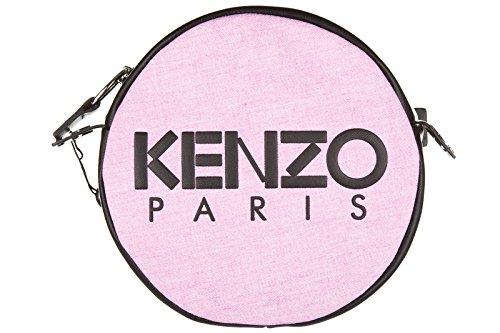 Kenzo borsa donna a tracolla pelle borsello rosa