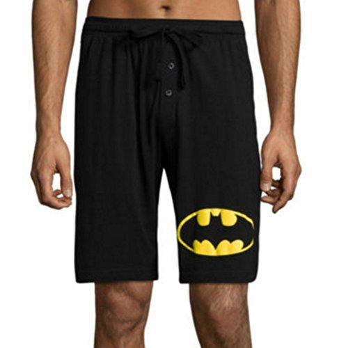 BATMAN / CORONA PALM BEACH MENS LOUNGE PJ PAJAMA SLEEP SHORTS (X Large, Batman) (Free World Shorts compare prices)
