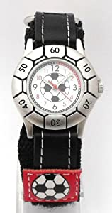 Boys Red Velcro Football Watch (51)
