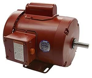 1.5 hp 1725rpm 145T Frame TEFC (Farm Duty) 115/208-230 volts Leeson Electric Motor # 113938