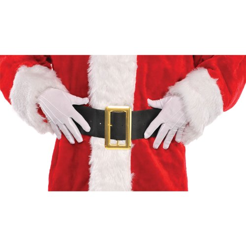 gloves santa white cotton