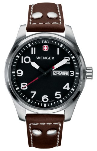 Wenger Men's 7209 AeroGraph Day Date Swiss Watch